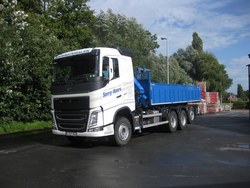 Transport bouwmaterialen